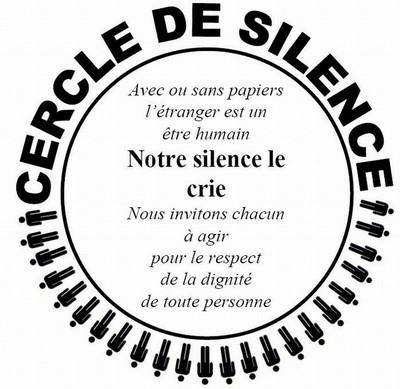 Cercle de Silence de Versailles de septembre 2018