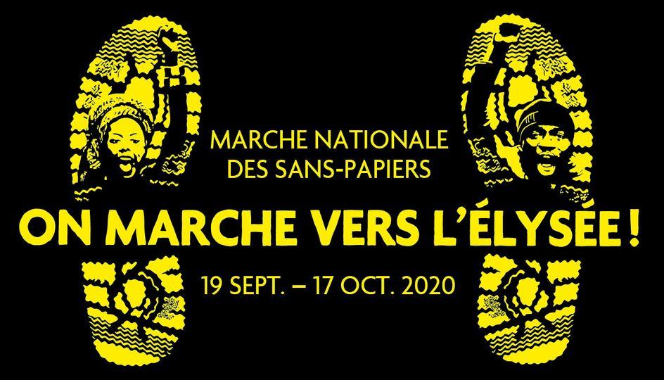 Marche nationale des sans-papiers : on marche vers l'Élysée